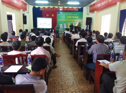 A mission to bring Polysulphate into use in Vietnam