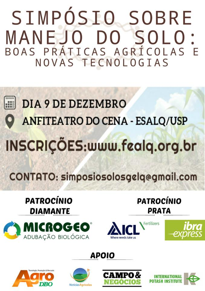 Symposium on Soil Management: Good Agricultural Practices and New Technologies